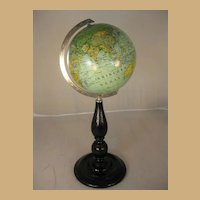 "Desk Globe - 6"" German"