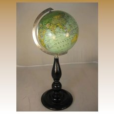 "Desk Globe - 6"" German"