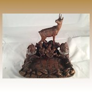 Black Forest Ink Stand with Chamois