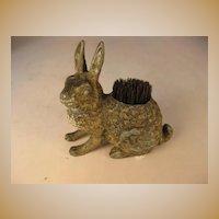 Rabbit Pen Wipe - Painted Metal