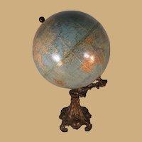 """Cram's Imperial 9"""" Globe on base"""