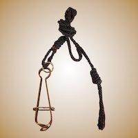 Victorian Brass Skirt Lifter