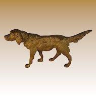 Austrian Bronze Dog Figure