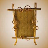 French Gilded Brass Frame