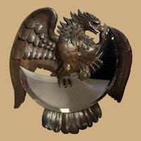 Black Forest Eagle Crescent Mirror