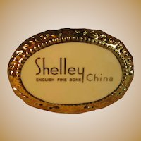 National Shelley China Club Commemorative Advertising Plaque