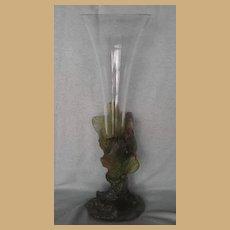 Daum Nancy - Pate De Verre Vase