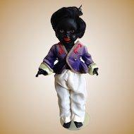 Wonderful Hard Plastic Black Doll 13½ inches (35 cm)