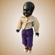 Black composition doll 18 inches~ Rare and Unique