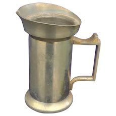 Dutch Pewter Creamer