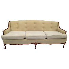 Vintage Louis XV Or French Provincial Style Sofa / Settee / Canapé