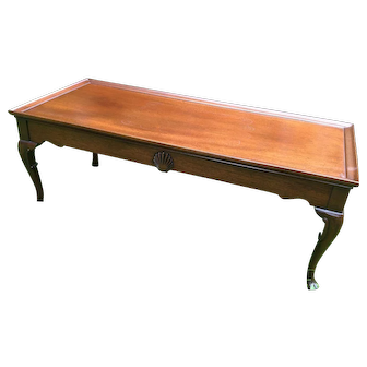 Vintage Hickory Chair James River Collection Coffee Table