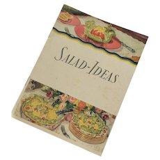 """1929 Vintage Hellman's Mayonnaise Advertising Cookbook """"Salad Ideas"""""""