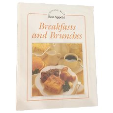 """Breakfasts and Brunches"" Vintage ""Bon Appetit"" Cookbook 1985"