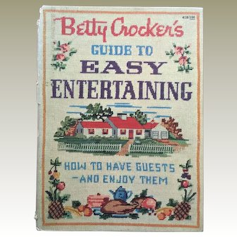 "Vintage 1959 Cookbook ""Betty Crocker's Guide to Easy Entertaining: How to Have Guests and Enjoy Them"""