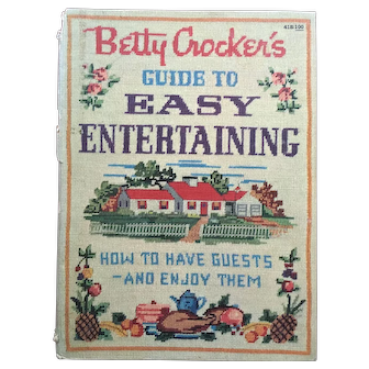 """Vintage 1959 Cookbook """"Betty Crocker's Guide to Easy Entertaining: How to Have Guests and Enjoy Them"""""""