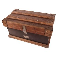 HOLD FOR SEAN!     Amazing Antique 1890's Vanderman Railroad Strong Box
