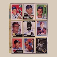 Huge Collection of 759 Autographed Vintage Baseball cards