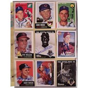 Amazing collection of 759 Autographed Vintage Baseball cards