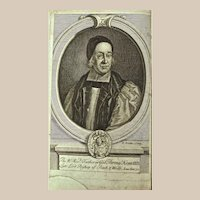 Book: A Short Account of the Life of Thomas Ken, D.D. Dated 1793