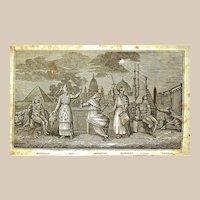 """Book: """"Religious Ceremonies and Customs etc"""" c1835"""