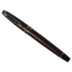 Vintage Expert Smart Brown Unused Waterman Fountain Pen