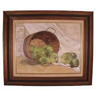 Vintage Oil Painting by Chester County Artist