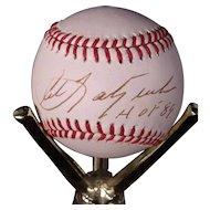 Rare Carl Yastremski Autographed American League Baseball