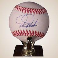Vintage Darren Daulton Autographed Baseball, Phillies