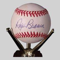 Vintage Ralph Branca Autographed Baseball