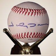 Rare Johnny Damon Autographed Baseball, Texas League