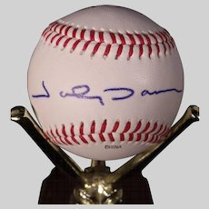 Rare Johnny Damon Autographed Baseball, Texas League