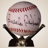 Vintage Brooks Robinson Autographed Baseball