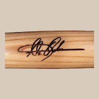 Very Rare Alex Ochoa, 1997 Fleer/Skybox Autographed Baseball Bat