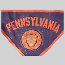 Vintage 1940 University of Pennsylvania Bicentennial Memorabilia Collection