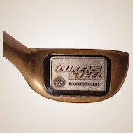 Vintage Lukens Steel Custom Executive Putter
