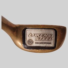 Vintage Lukens Steel Custom Executive Putter