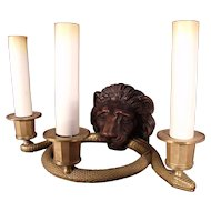 Very Fine pair of 19th Century French Dore Bronze Sconces