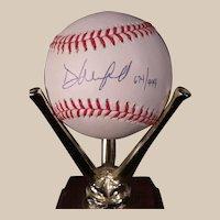 Dave Winfield 1992 World Series Autographed Baseball  #674