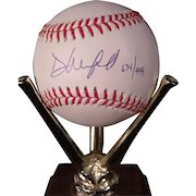 Dave Winfield 1992 World Series Autographed Baseball  #674