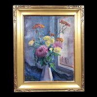 Very Rare Still Life Oil Painting by Roy Cleveland  Nuse, PAFA, New Hope