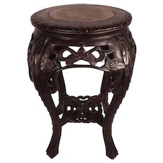 Lovely Antique Victorian Chinese Side Table