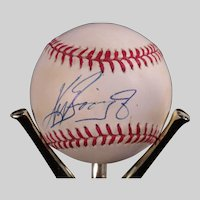 Rare Ken Griffey, Jr. Autograph Baseball Memorabilia Collection