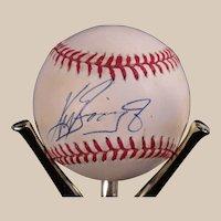 Rare Ken Griffey, Jr. Autograph Baseball Memorabilia Collection