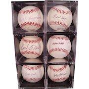 Rare Hall of Fame Negro League Baseball Autograph Collection