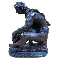 Fine Antique c1916 Bronze Sculpture by Pierre-Auguste Renoir