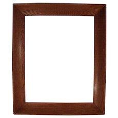 Wonderful Antique c1900 Large Solid Oak Picture Frame