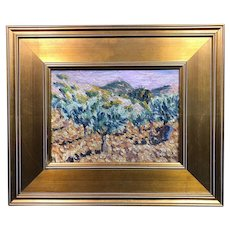 Wonderful Ernest Lawson Oil Painting, New Hope, Bucks County