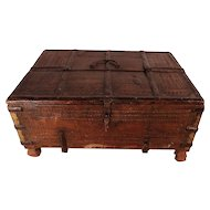 18th Century Indian Dowry Box, Former Property of Patrick Swayze