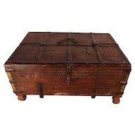 PATRICK SWAYZE Estate 18th Century Indian Dowry Box